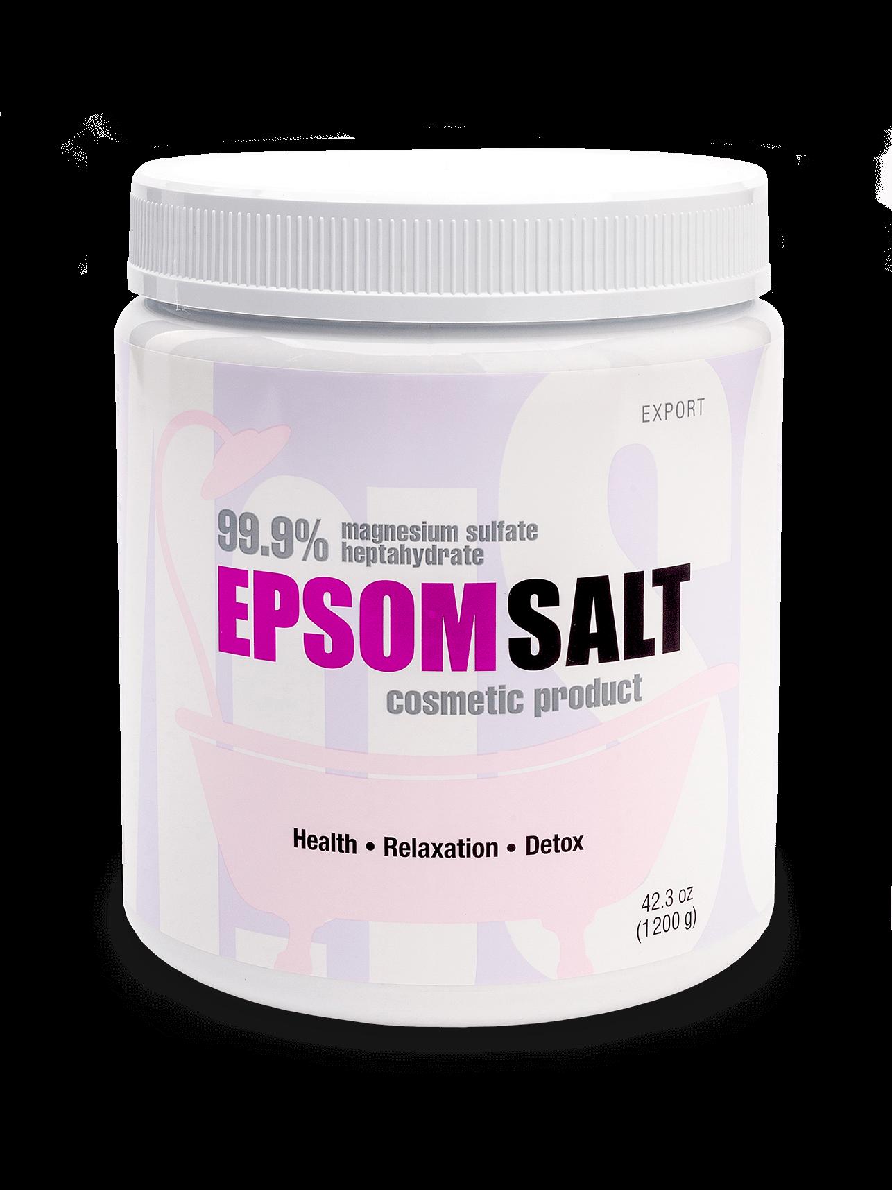 Английская соль EPSOM SALT KAST-EXPO® Export, 1200 гр